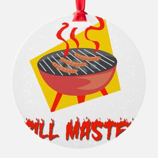 Grill Master flat Ornament