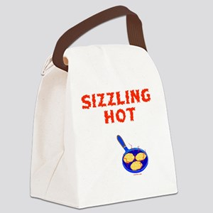 Sizzling Hot 2 flat Canvas Lunch Bag