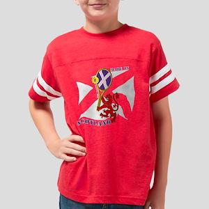 Scottish Lion Tennis White Sa Youth Football Shirt