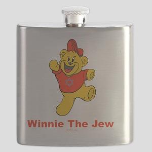 Winnie tHe Jew flat Flask