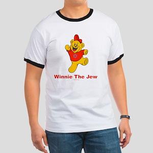 Winnie tHe Jew flat Ringer T