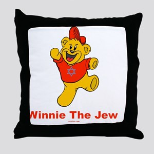 Winnie tHe Jew flat Throw Pillow