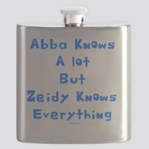 zeidy Knows Everything 2 flat Flask