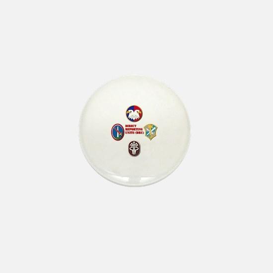 Direct Reporting Unit (DRU) Mini Button