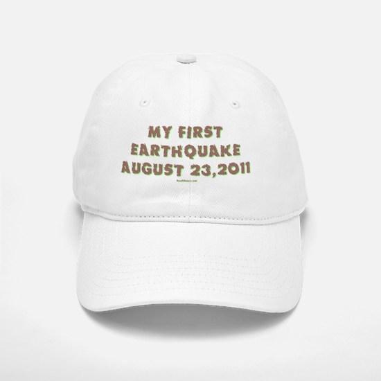 First Eartquake 2011 flat Baseball Baseball Cap