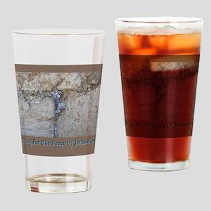 Peace Jerusalem 1 Drinking Glass
