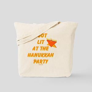 Got Lit Hanukkah Party Tote Bag
