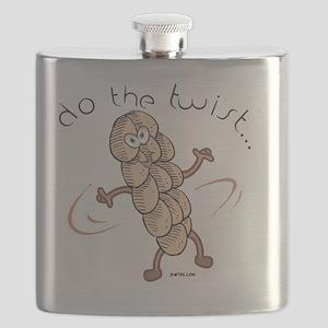 Do the Twist Funny Jewish Flask
