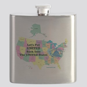 Put United into United States Flask