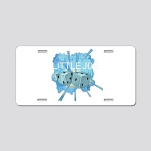 FB-111A Aluminum License Plate