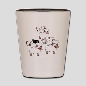Black Sheep Shot Glass