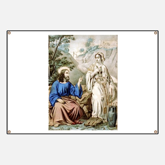 Christ and the woman of Samaria at Jacob's Well -
