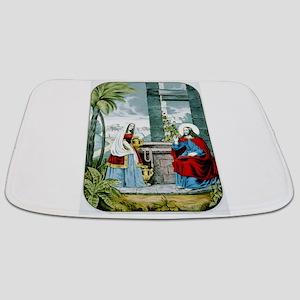 Christ at the well - 1846 Bathmat