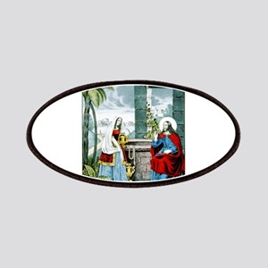 Christ at the well - 1846 Patch
