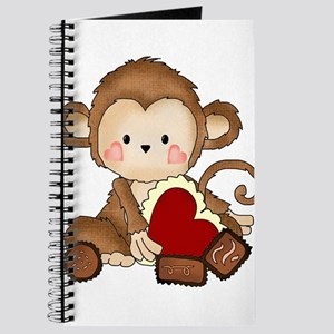 Monkey with candy Journal