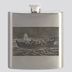 Christ walking on the sea - 1907 Flask