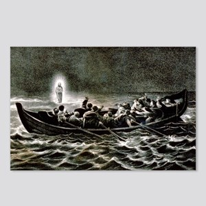 Christ walking on the sea - 1907 Postcards (Packag