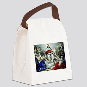 Christus consolator - 1856 Canvas Lunch Bag