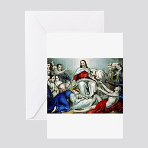 Christus consolator - 1856 Greeting Card
