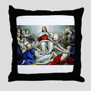 Christus consolator - 1856 Throw Pillow