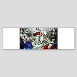 Christus consolator - 1856 Sticker (Bumper)