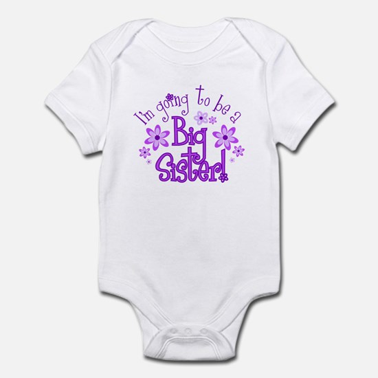 I'm going to be a Big Sister Body Suit