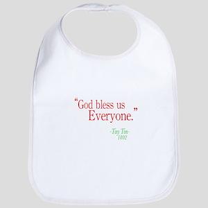 God bless us everyone Bib