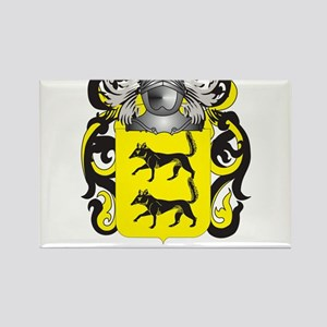 Lopez Coat of Arms - Family Crest Rectangle Magnet