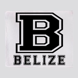 Belize Designs Throw Blanket
