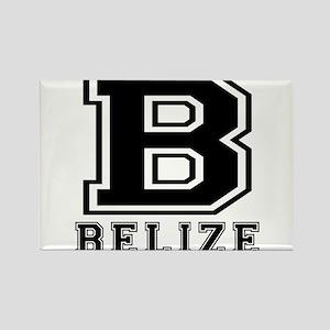 Belize Designs Rectangle Magnet