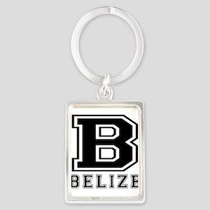 Belize Designs Portrait Keychain