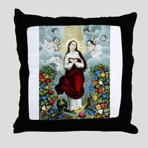 Immaculée conception - 1856 Throw Pillow