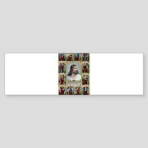 Jesus and the twelve apostles - 1847 Sticker (Bump
