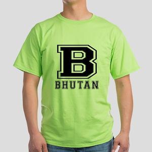 Bhutan Designs Green T-Shirt