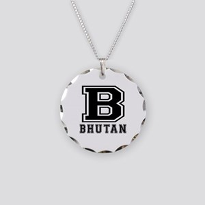 Bhutan Designs Necklace Circle Charm