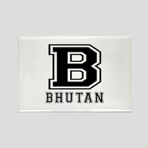 Bhutan Designs Rectangle Magnet