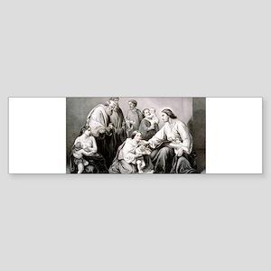 Jesus blessing little children - 1867 Sticker (Bum
