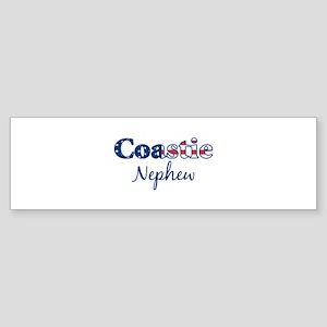 Coastie Nephew (Patriotic) Bumper Sticker
