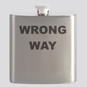 WRONG WAY Flask