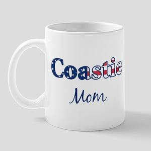 Coastie Mom (Patriotic) Mug