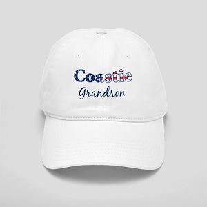 Coastie Grandson (Patriotic) Cap