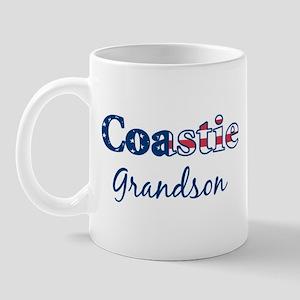 Coastie Grandson (Patriotic) Mug
