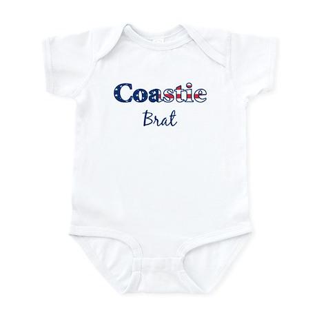 Coastie Brat (Patriotic) Infant Bodysuit