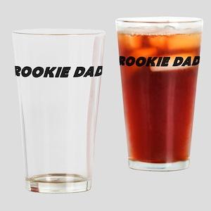 Rookie Dad Drinking Glass