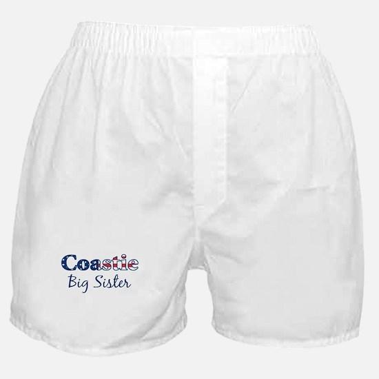 Coastie Big Sister (Patriotic Boxer Shorts