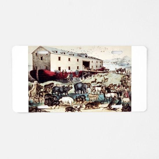 Noah's ark - 1907 Aluminum License Plate