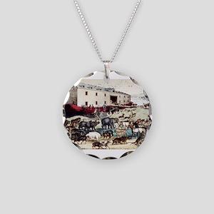 Noah's ark - 1907 Necklace Circle Charm