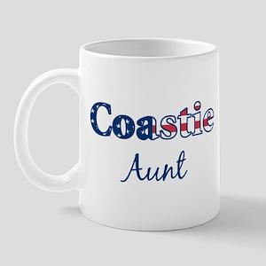 Coastie Aunt (Patriotic) Mug