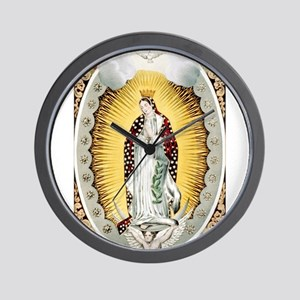 our lady of Guadalupe - 1848 Wall Clock