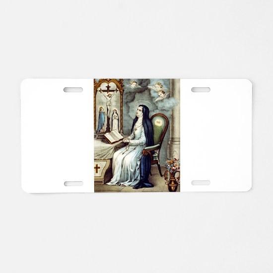Saint Bridget - 1880 Aluminum License Plate